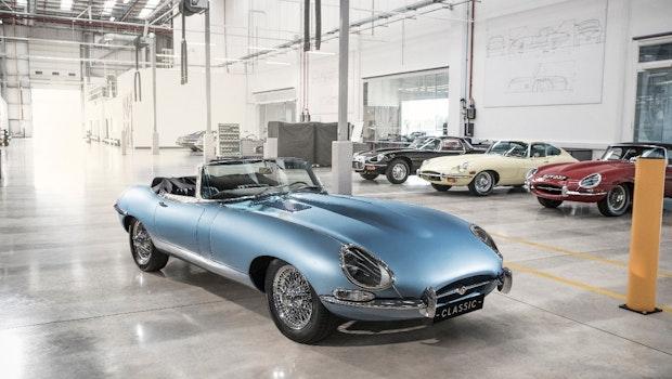Jaguar E-Type Zero. (Bild: Jaguar)