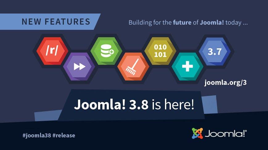 Joomla 3.8 – das bringt die neue Version