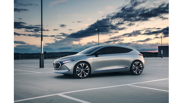 Mercedes Concept EQA. (Bild: Daimler)