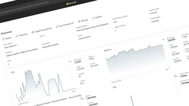Windows Server bekommt webbasierte Management-Konsole