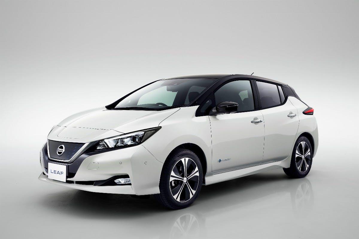 Nissan Leaf 2 (2017). (Foto: Nissan)
