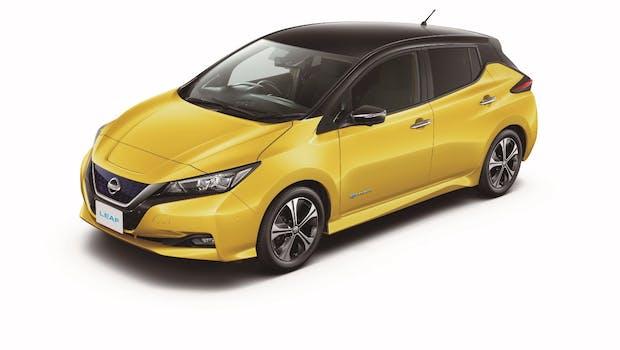 Der Nissan Leaf ist das meistverkaufte Elektroauto der Welt. Seit 2010 wurden über 280.000 Exemplare des Stromers abgesetzt – 2017 ist der Nissan in einer Neuauflage mit mehr Reichweite und einigen optischen Anpassungen versehen worden. (Foto: Nissan)