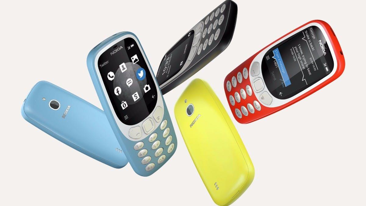 Nokia 3310 3G: Neuauflage des Kulthandys mit UMTS-Modem vorgestellt