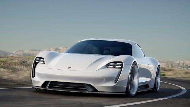 Porsche Mission E Konzept. (Bild: Porsche)