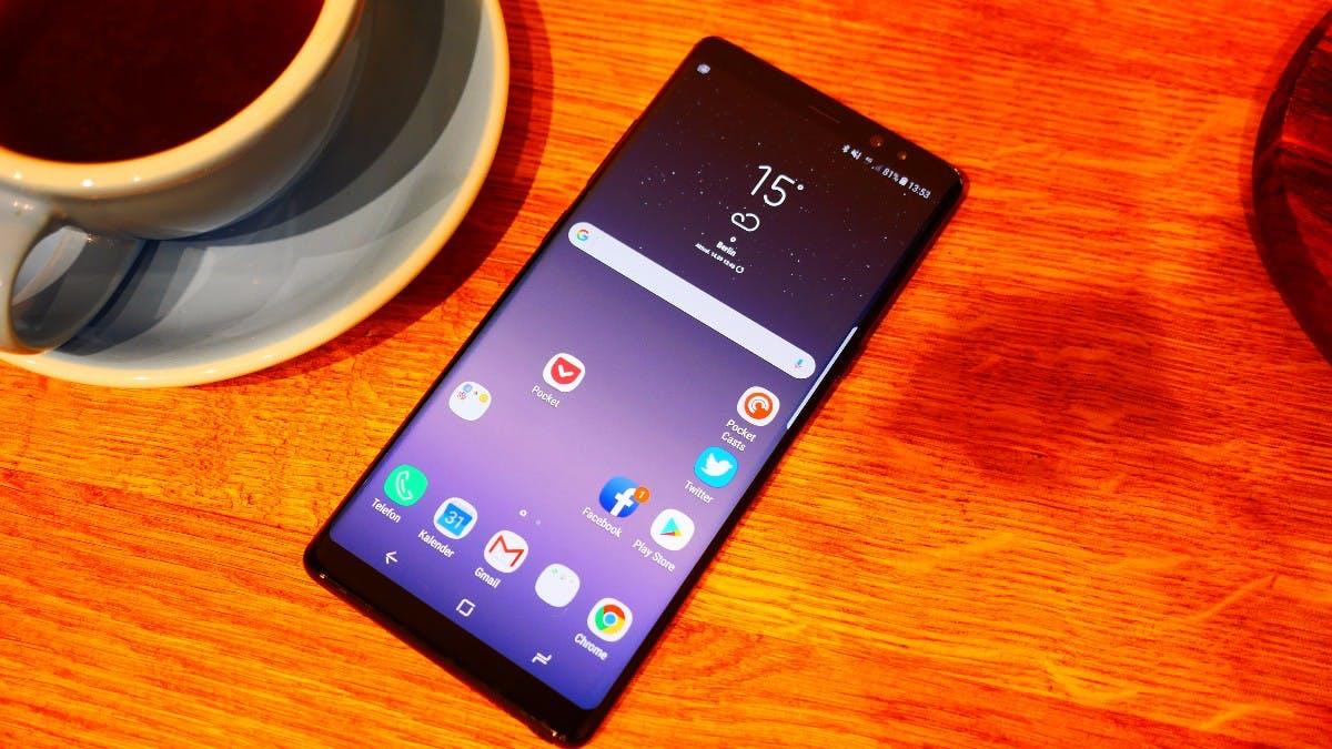 Samsung Galaxy Note 8 im Test. (Foto: t3n)
