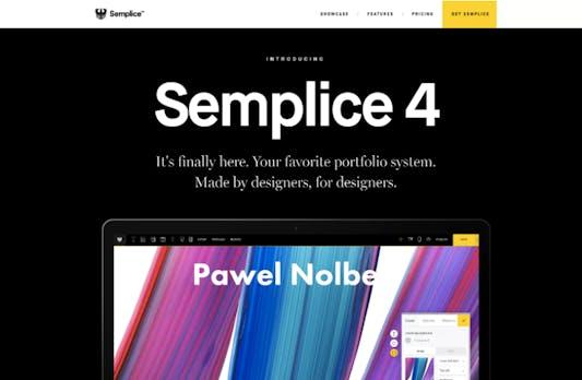 Schicke Portfolios ohne Coding-Skills: WordPress-Tool Semplice kommt in Version 4