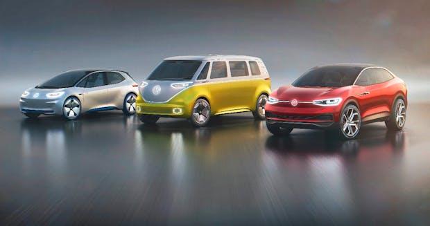 So viel wie 10 Gigafactorys: VW investiert 50 Milliarden in Akkus und 20 Milliarden in Stromer