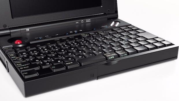Das Thinkpad 220 von 1993. (Foto: Lenovo)