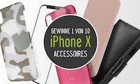 Rundumschutz für das iPhone X: Artwizz verlost 10 Top-Hüllen inklusive Displayschutz