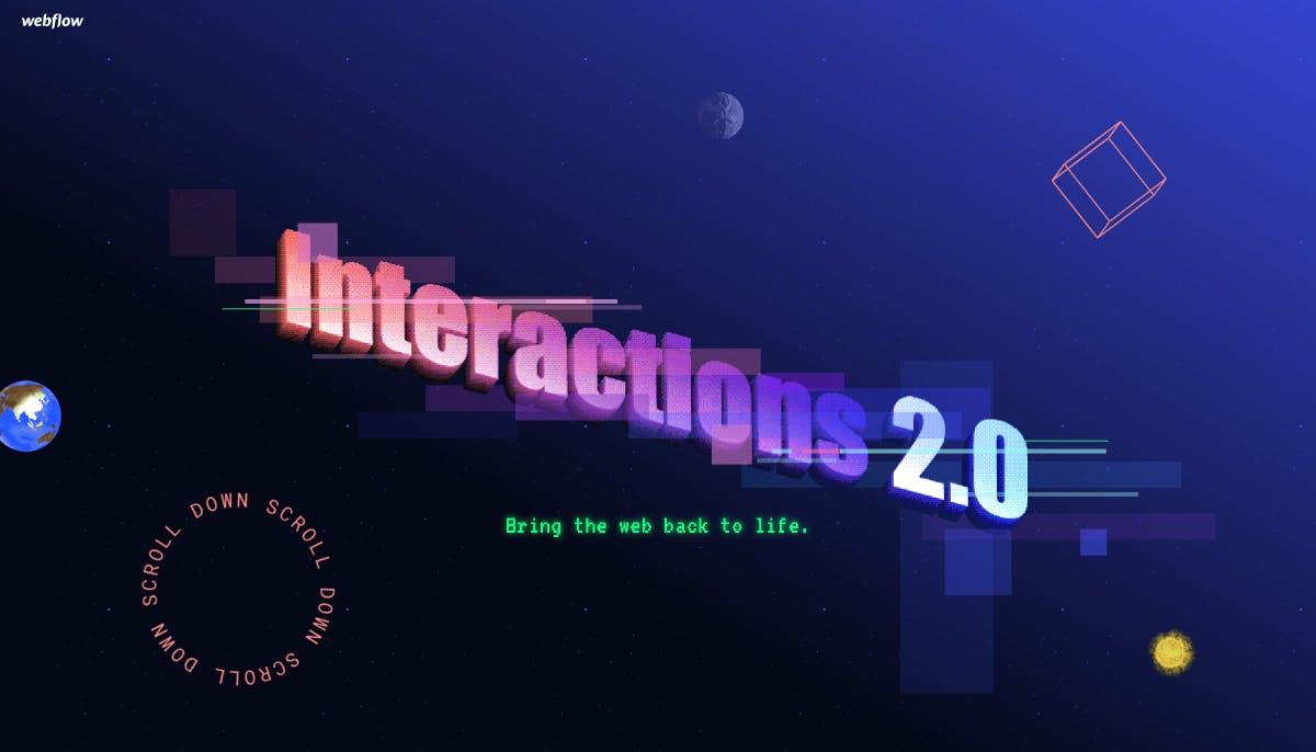 Tschüss Flash, hallo Webflow: Neues Feature für interaktive Designs