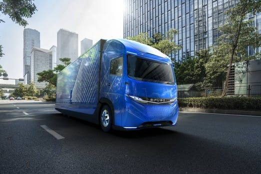 Vor Tesla: Daimler präsentiert elektrischen Lkw E-Fuso Vision One