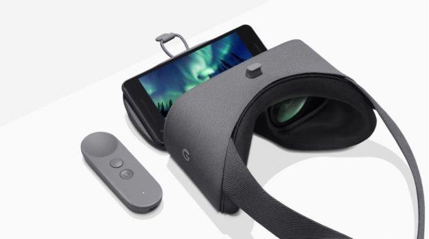 Googles Daydream View wurde 2016 zusammen mit den ersten Pixel-Phones angekündigt. (Bild: Google)