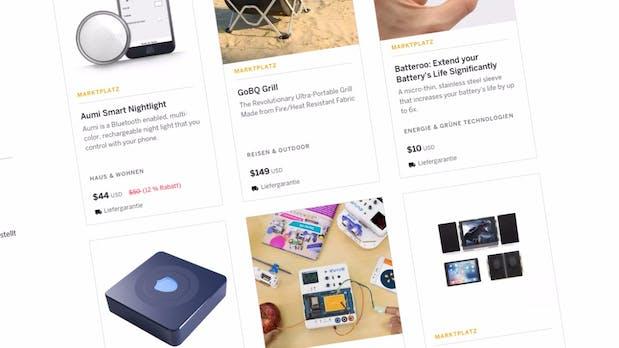 Indiegogo wird von der Crowdfunding-Plattform zum Marktplatz