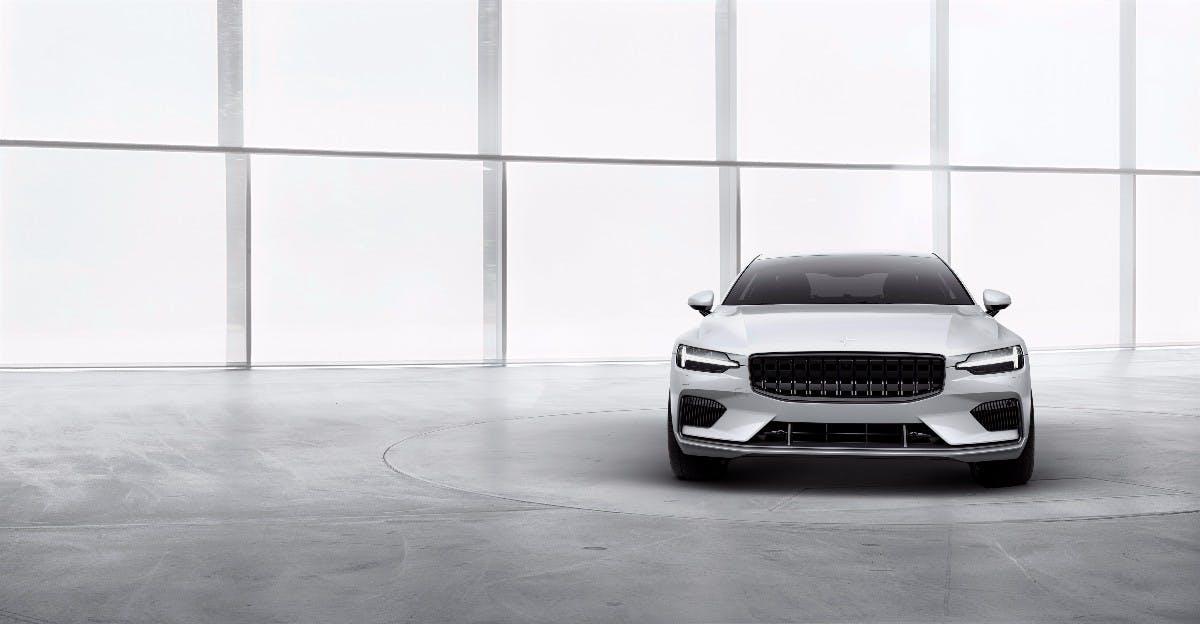 Polestar Volvo Tochter Kundigt Erstes Elektrifiziertes Fahrzeug An