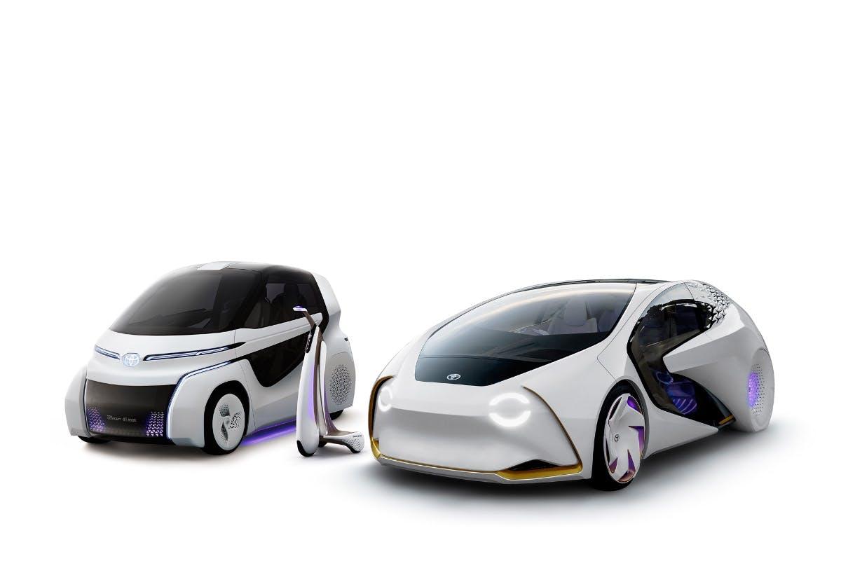 Toyota zeigt schicke neue Elektroauto-Konzepte