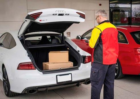 So will Amazon Pakete in dein Haus und dein Auto liefern