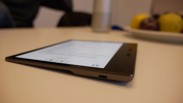 Kindle Oasis. (Foto: t3n)
