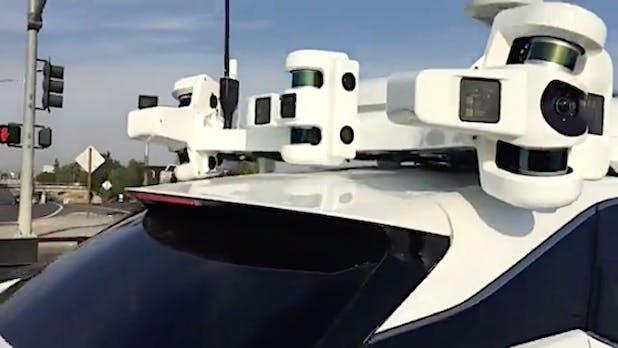 """""""Das Ding"""": Neues selbstfahrendes Auto mit Apple-Technik entdeckt"""