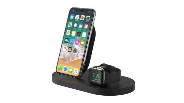 iPhone und Apple Watch drahtlos aufladen: Belkin Boostup. (Bild: Belkin)