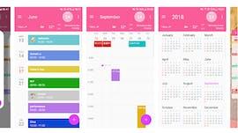 CalendarZ: Die Kalender-App für Android unterstützt auch Google Task. (Screenshot: Play-Store)