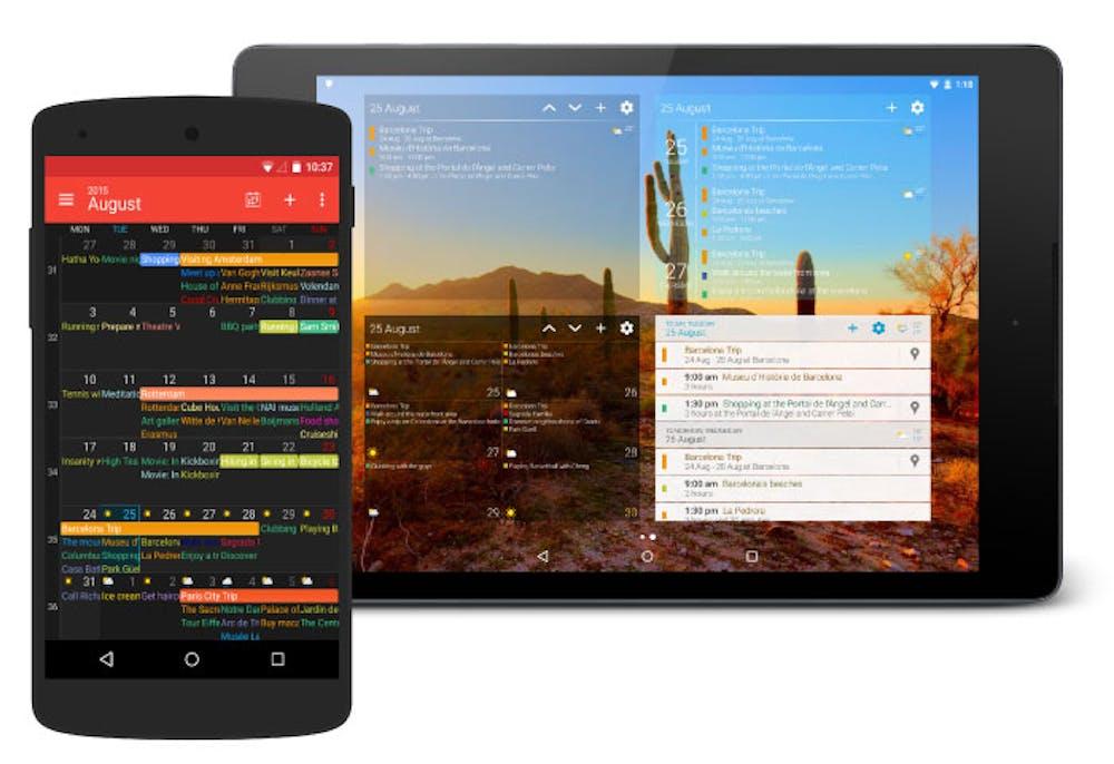 Der DigiCal-Kalender für Android. (Grafik: Digibites)