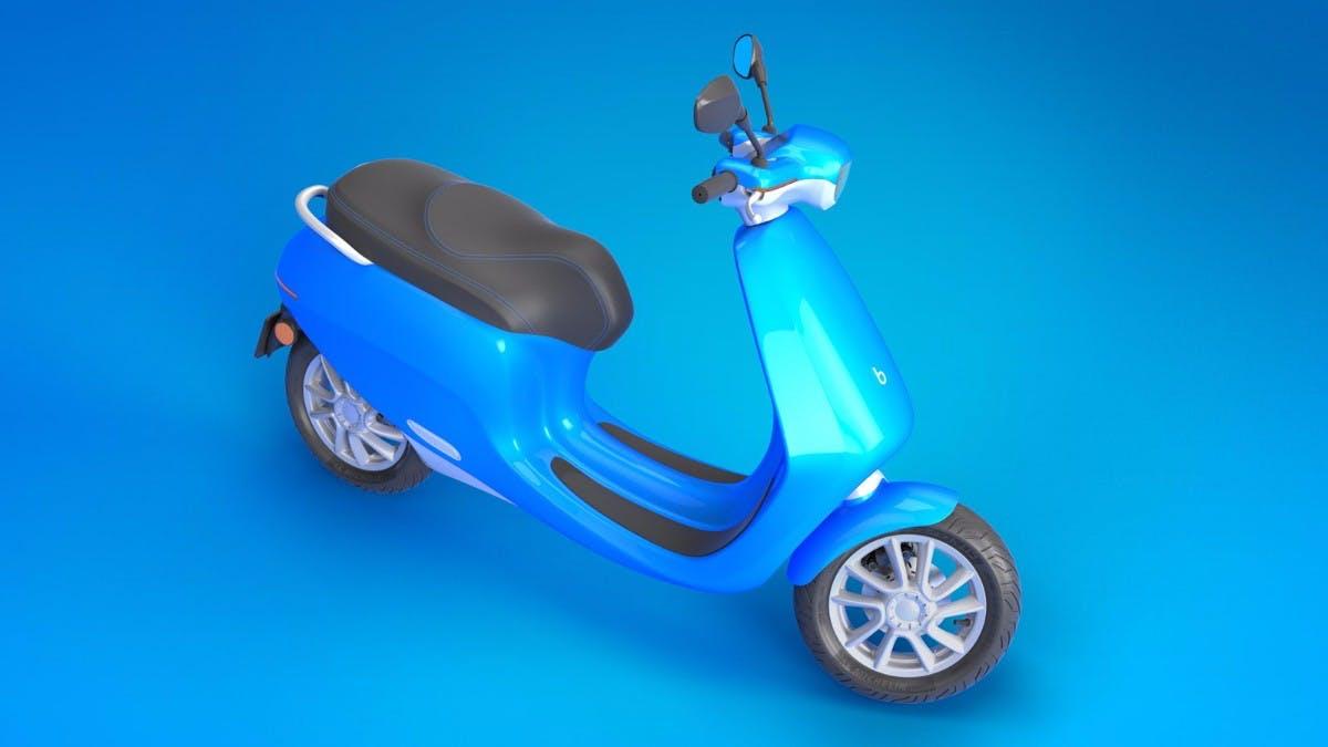Bolt Mobility Appscooter. (Bild: Bolt Mobility)