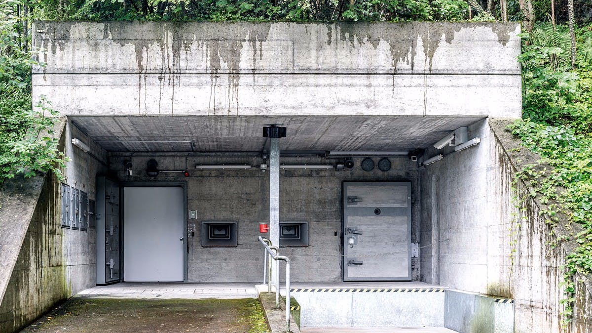 Bombensicherer Bitcoin-Bunker: So schützen Millionäre ihre Krypto-Kohle