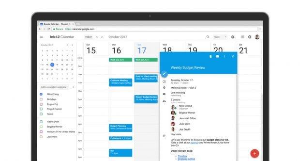Im neuen Google Kalender ist es möglich Formatierungen und Hyperlinks in Kalendereinladungen zu integrieren. (Bild: Google)