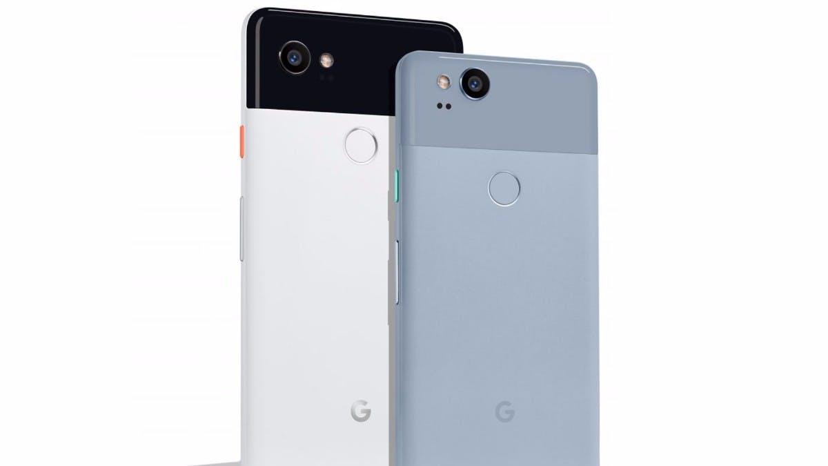 Pixel 2 und Pixel 2 XL enthüllt: Das sind Googles neue Premium-Phones