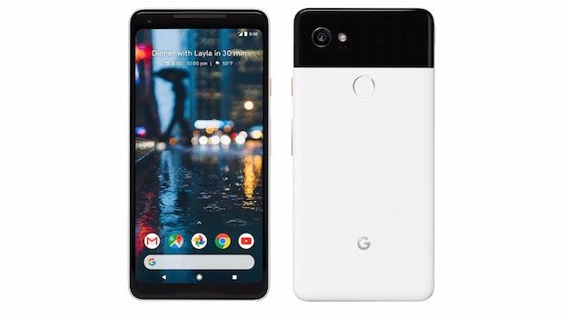 Das ist das Google Pixel 2 XL in Black-and-White. (Bild: Google)