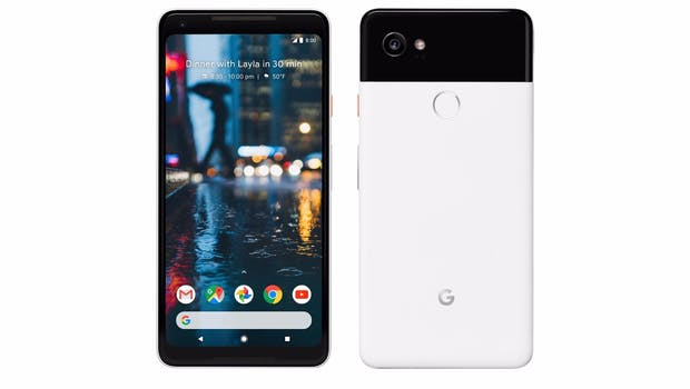 Das ist das Google Pixel 2 XL in Black-and-White. (Bild: Google)
