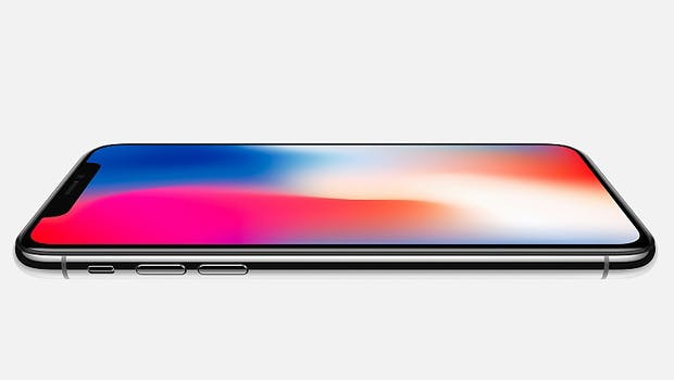 iPhone X. (Bild: Apple)