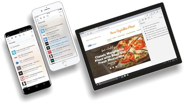 Microsoft veröffentlicht Edge-Browser für iOS und Android