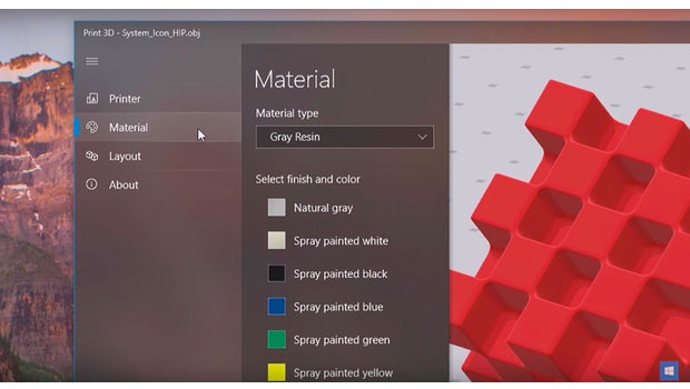 Neues Design: Fluent-Design-System. (Screenshot: Microsoft)