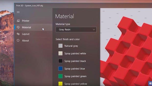 Neues Design: Fluent-Design-System. (Screenshot: Microsoft)