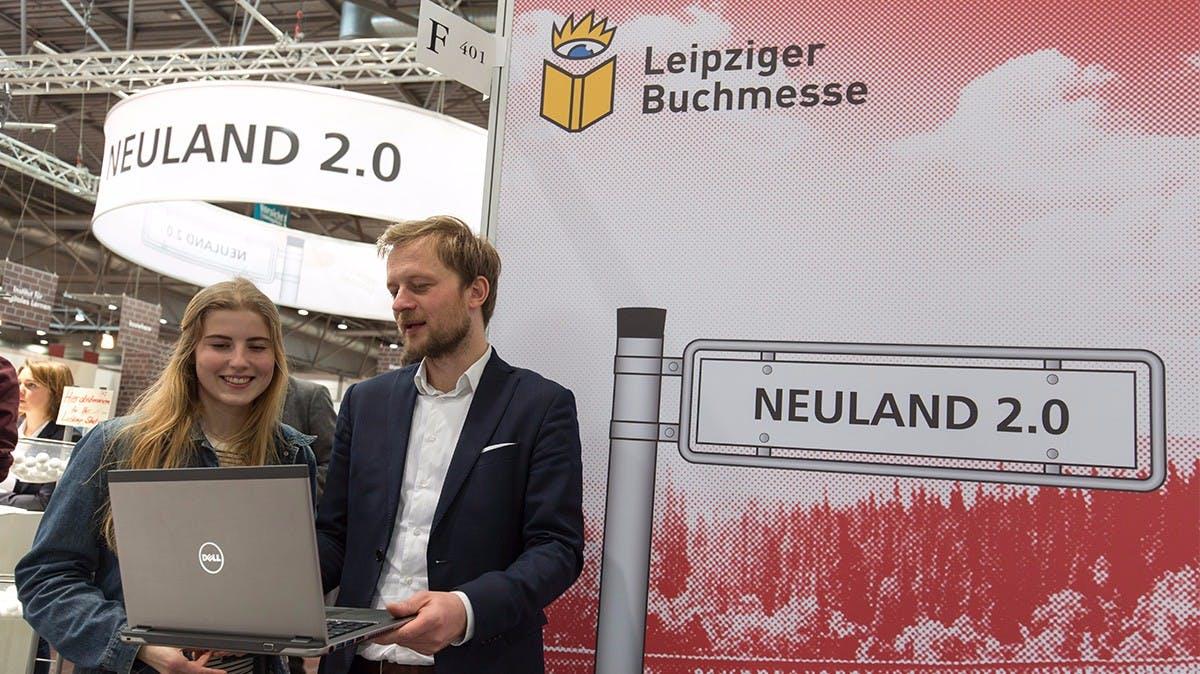 Neuland 2.0: Die Innovations-Area der Buch- und Medienwirtschaft auf der Leipziger Buchmesse