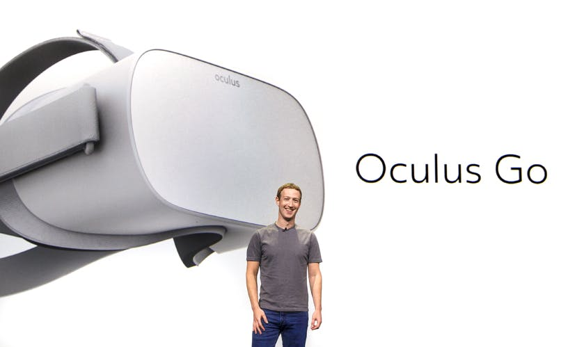 Oculus Go: Facebook kündigt Standalone-VR-Brille für 199 Dollar an