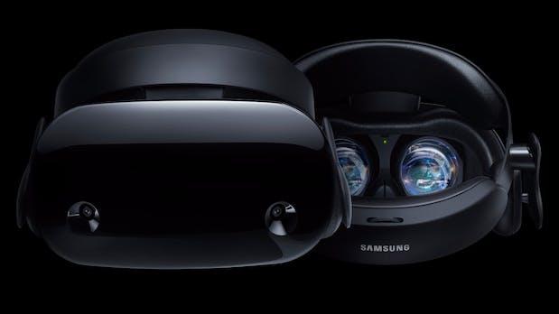 Samsung Odyssey: Neue Windows-Mixed-Reality-Brille positioniert sich als Konkurrenz zur Oculus Rift