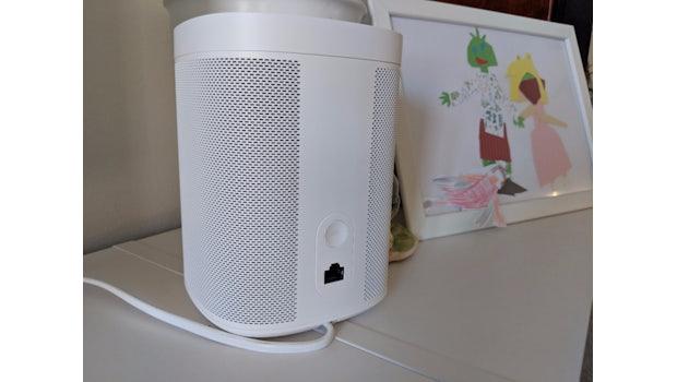 Der Sonos One von hinten.  (Foto: t3n.de)