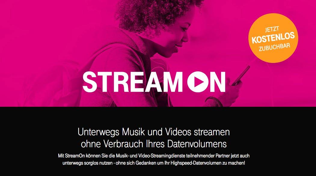 Bundesnetzagentur untersagt Teile des Stream-On-Tarifs der Telekom