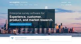 Surveygizmo ist vor allem für den Unternehmenseinsatz optimiert. (Screenshot: surveygizmo.com)