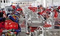 Wegen Coronavirus-Krise: Tesla stoppt Produktion