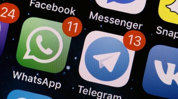 Schwachstelle: Per Whatsapp oder Telegram versendete Bilder sind nicht sicher