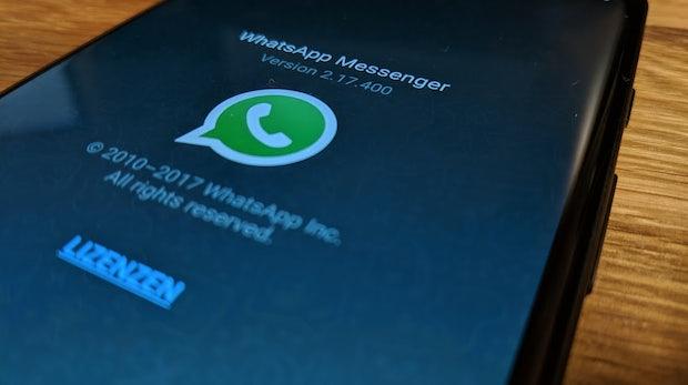 Whatsapp bekommt Löschfunktion für verschickte Nachrichten