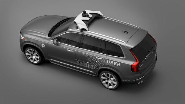 Selbstfahrende Autos: Volvo liefert zehntausende XC90 an Uber