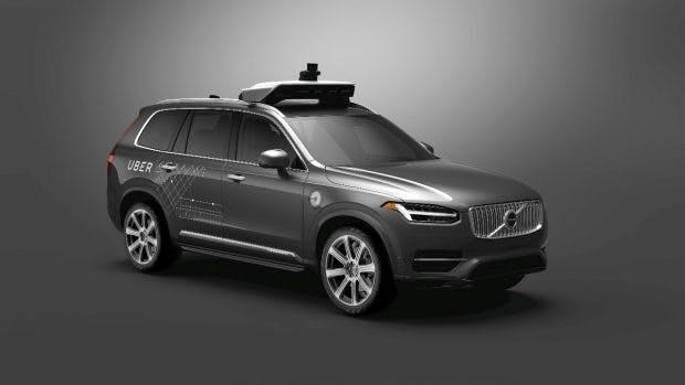 Selbstfahrende Autos: Volvo und Uber bauen Zusammenarbeit aus. (Bild: Volvo)