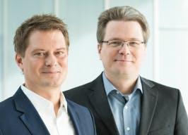 CEO Michael Hajesch (l.) und COO Marcus Groll (r.) (Bild: Ionity)