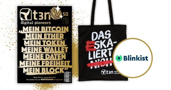 t3n-Abo inklusive sechsmonatiger Blinkist-Premium-Mitgliedschaft