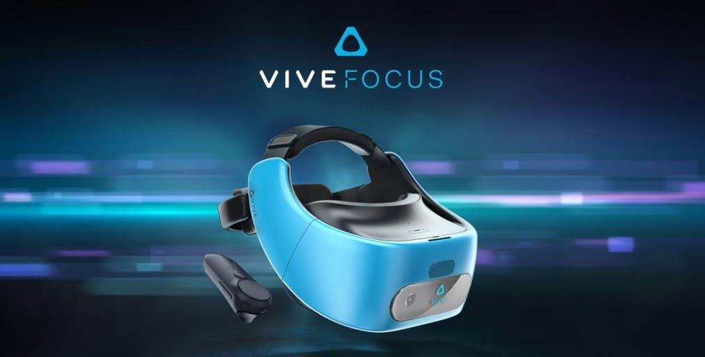 Vive Focus: HTC stellt neues Stand-alone-VR-Headset vor
