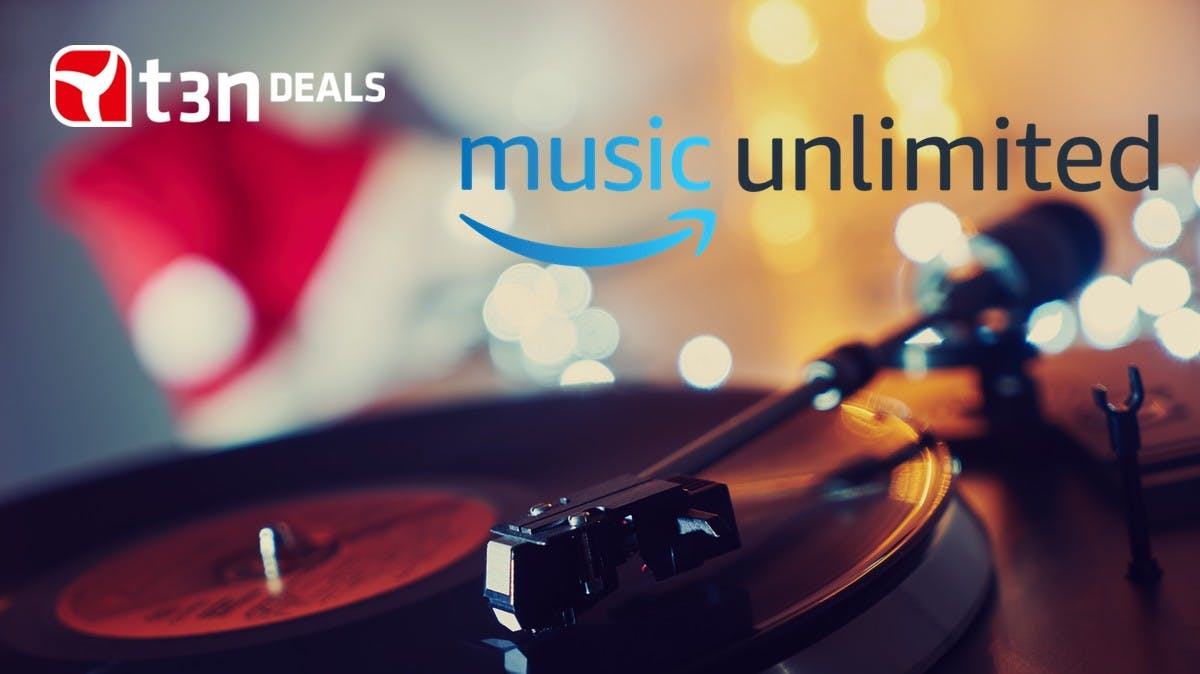 t3n-Deal des Tages: 3 Monate Amazon Music Unlimited für 0,99 Euro